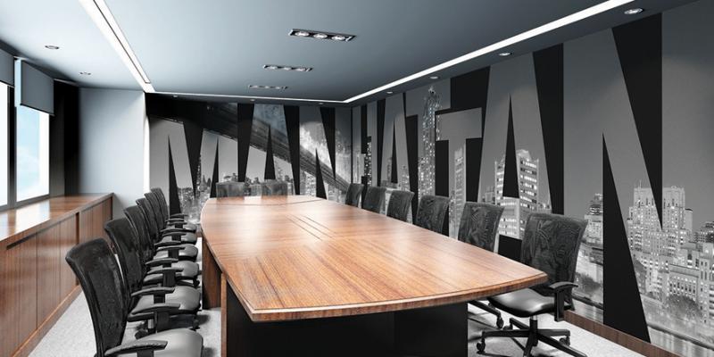 کاغذ دیواری مناسب دفتر کار و فضای اداری