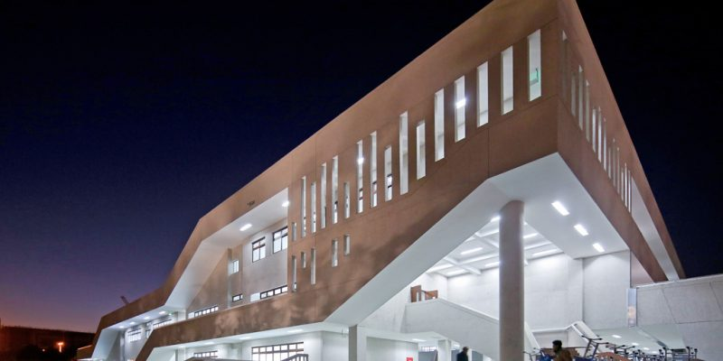طراحی معماری دبیرستان دفو (De Fu) در چین