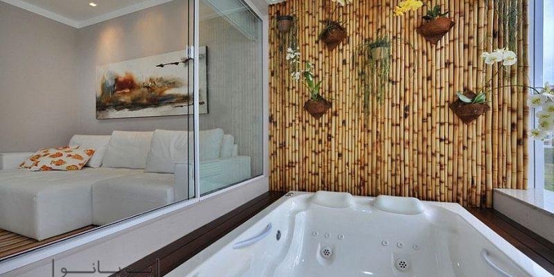 کاربردهای چوب بامبو در دکوراسیون : تکه ای از طبیعت در منزل شما