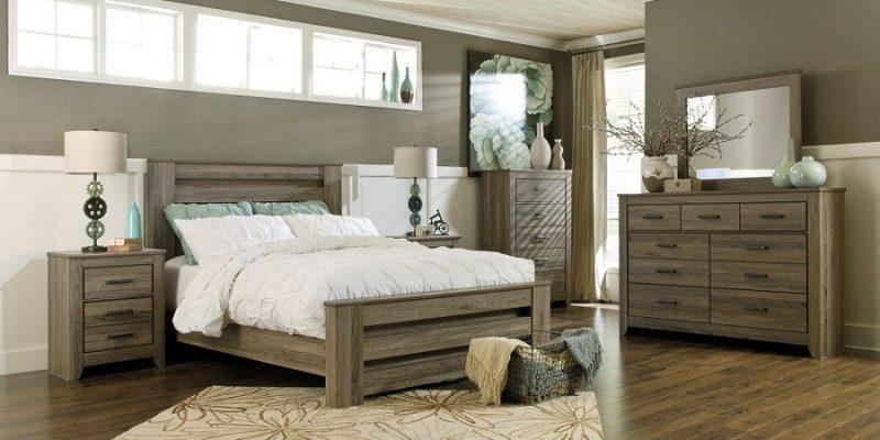 اتاق خواب به سبک روستیک