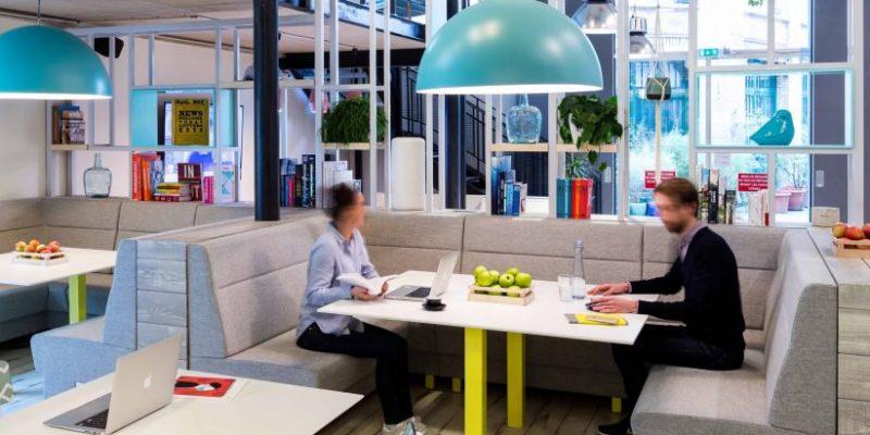 طراحی داخلی دفاتر کار جمعی به سبک صنعتی در ساختمان قدیمی در پاریس/ MoreySmith