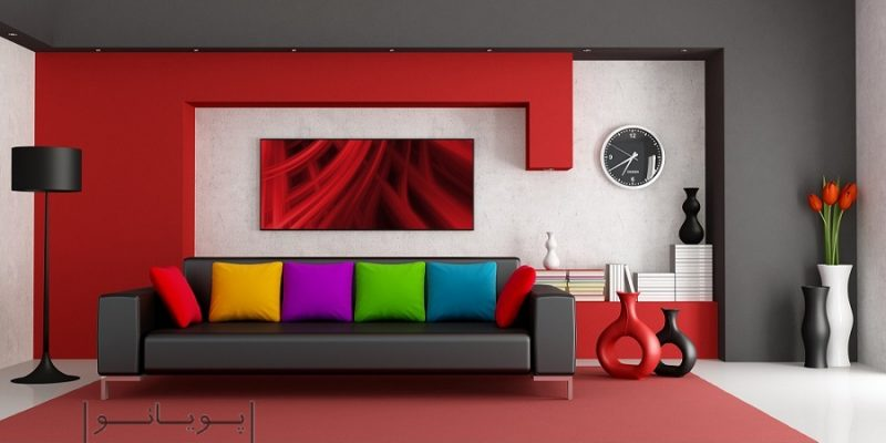 ایده های بکارگیری رنگ های خاص در طراحی دکوراسیون داخلی
