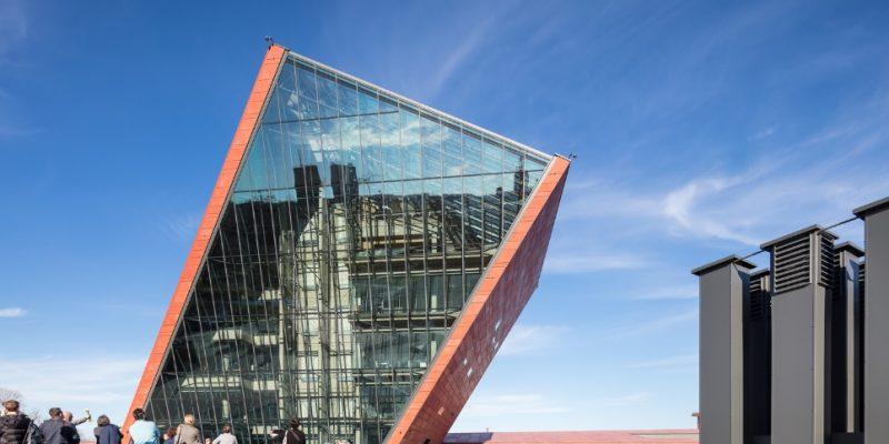 معماری و طراحی داخلی موزه جنگ جهانی دوم