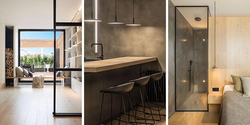طراحی داخلی پنت هاوس در بارسلونا / معمار Susanna Cots