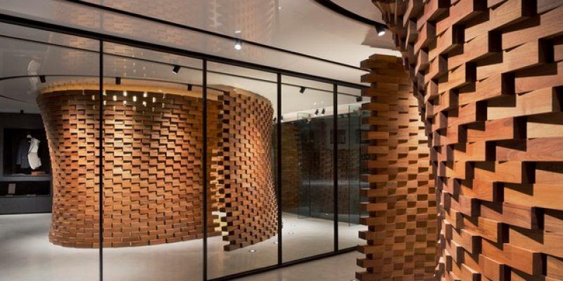 طراحی داخلی سالن خیاطی Tailors تومارولند/ Amezcua