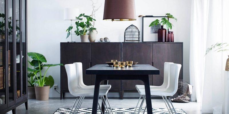 چیدمان میز ناهارخوری : فضای دورهمی خود را اینگونه شکل دهید