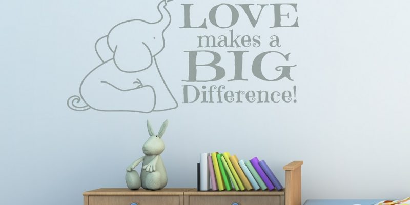 تزیین دیوار اتاق کودک با ایده های جذاب و ساده