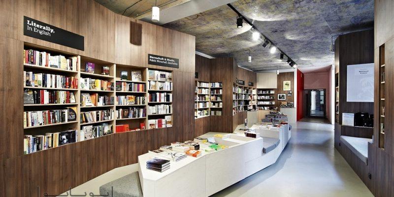 دکوراسیون کتاب فروشی : هیجان گشت و گذار در میان ماجراهای مختلف