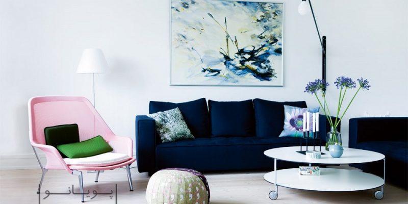 انتخاب مبل تک : چطور یک مبل متفاوت را با دکوراسیون منزل ست کنیم؟