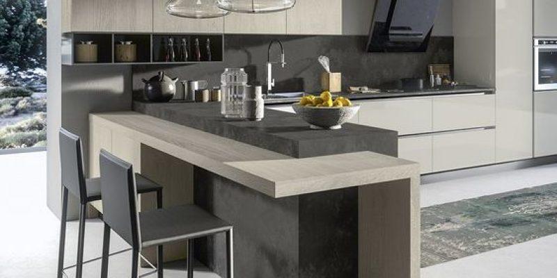 آشپزخانه آمریکایی ، مدلی دلباز برای خانه های کوچک