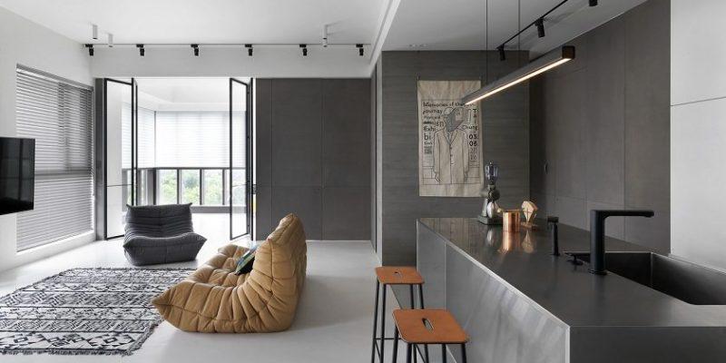 طراحی داخلی خانه Chiang / معماری ۲BOOKS