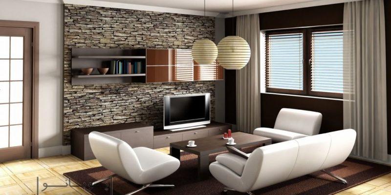 کاربرد سنگ های دکوراتیو در طراحی دکوراسیون منزل
