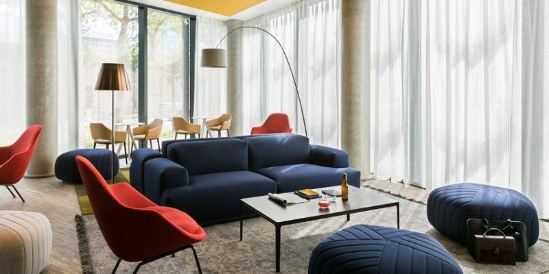 طراحی داخلی فضاهای رنگارنگ برای جدیدترین هتل اوکو ، معماری داخلی پاتریک نورگت