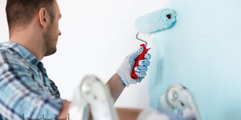 اصول رنگ کردن دیوار منزل : از انتخاب تا اجرا