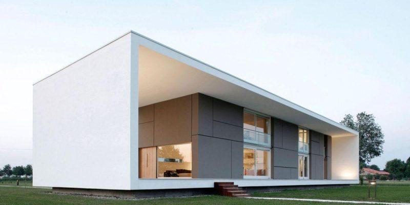 خانه با پوسته مینیمال