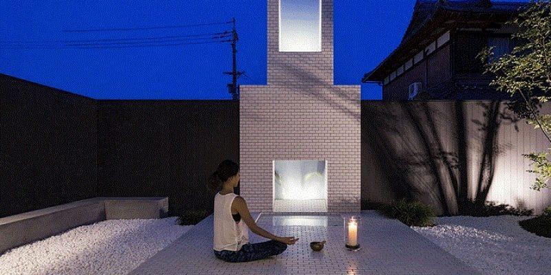طراحی کاشی کاری خانه مخصوص یوگا ، در ژاپن / معمار Kouichi Kimura