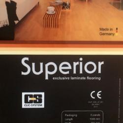 پارکت لمینت آلمانی سوپریور Superior