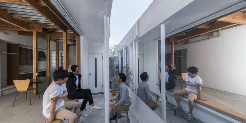 پنجره آیینه ای در طراحی داخلی / معمار Kosaku Matsumoto