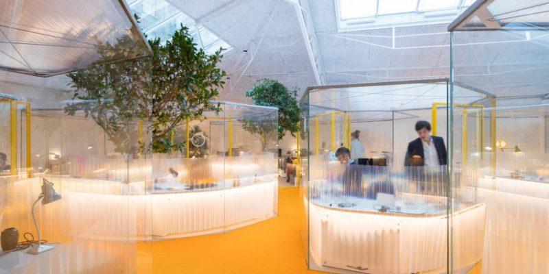 طراحی داخلی دفتر کار SelgasCano با تبدیل استودیوی سابق ریچارد راجرز / معماری Home Second