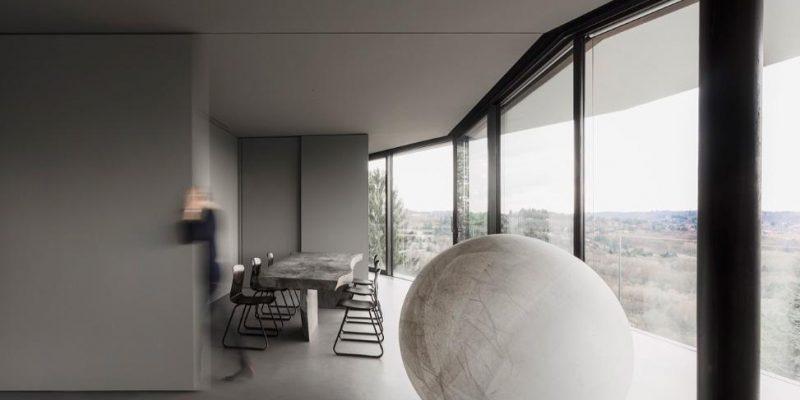 طراحی معماری خانه شیارا و استفانو