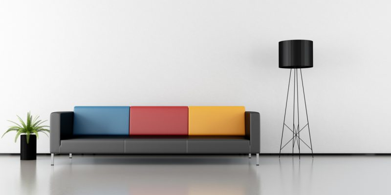 رنگ های شاد در طراحی دکوراسیون داخلی منزل