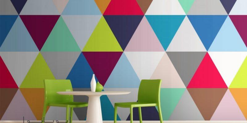 طراحی داخلی منزل با الگوهای هندسی و مدرن