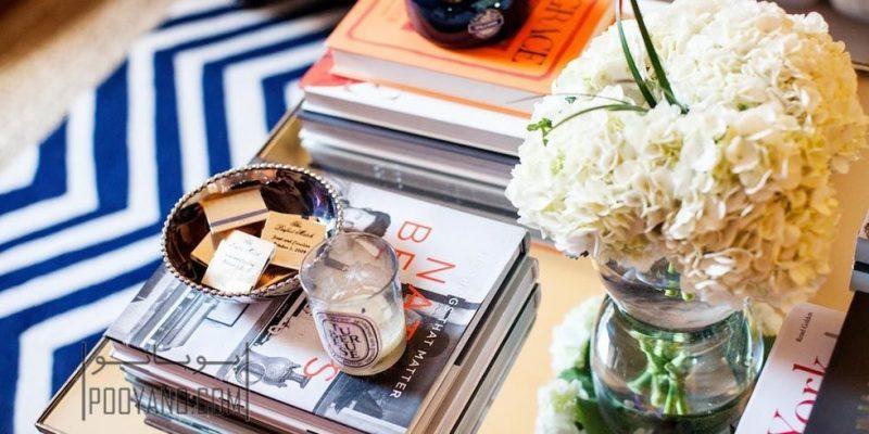 چیدمان میز قهوه خوری : دکوراسیون شیک و مدرن با این چند ایده