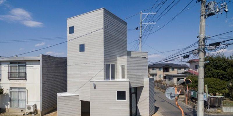 طراحی داخلی خانه در فوکوشیما / BHIS + K's planning