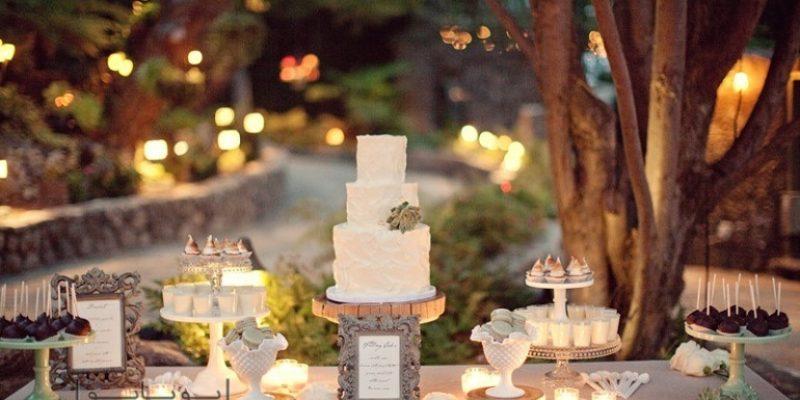 طراحی دکوراسیون باغ و تالار عروسی به سبک روستیک