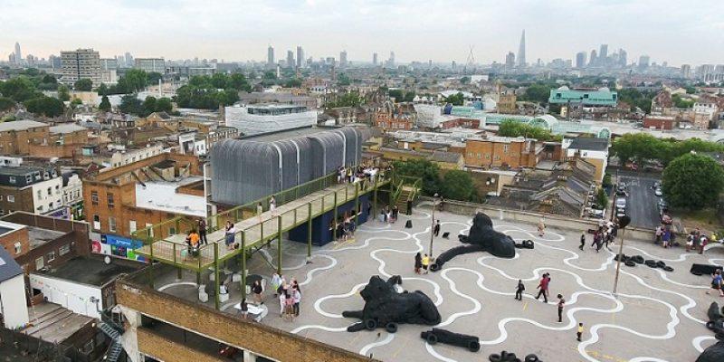 معماری رصدخانه Peckham / طراحی Cooke Fawcett