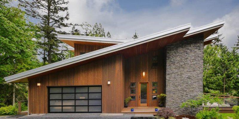 ۵ گونه سقف شیبدار خانه که درست به هدف می زنند