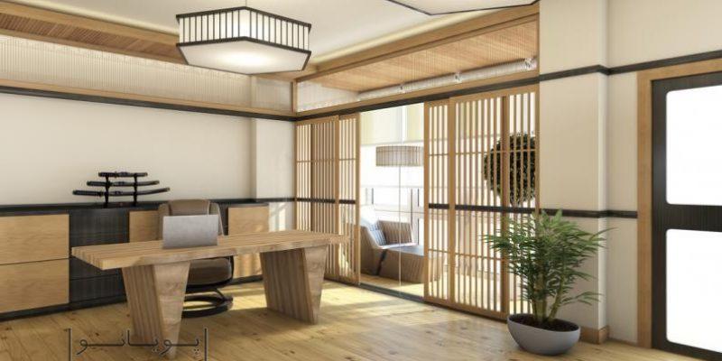 اصول طراحی دکوراسیون منزل به سبک ژاپنی