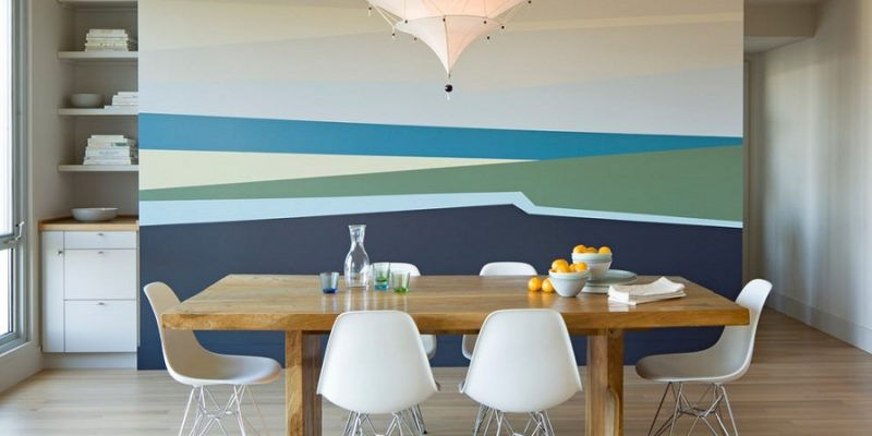 نقاشی دیوار منزل با ایده های جذاب و جدید
