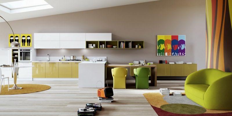 طراحی داخلی چند آشپزخانه جذاب و متفاوت