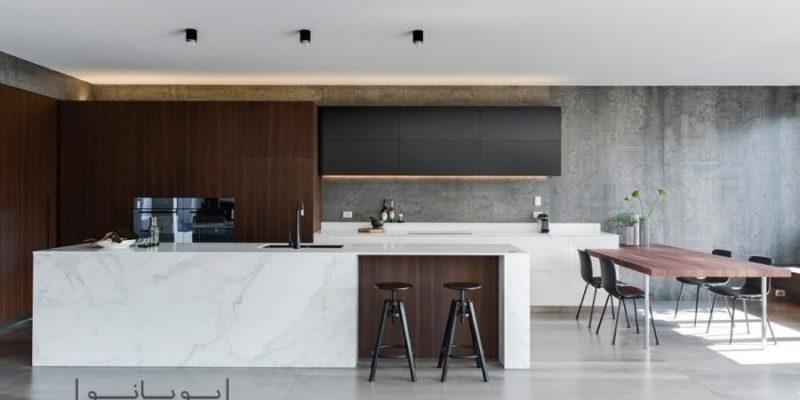 اصول طراحی آشپزخانه و کابینت آشپزخانه به سبک مدرن