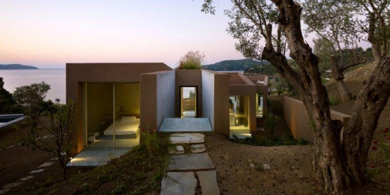 معماری داخلی خانه در آکلادیس / شرکت معماری Lydia Xynogala