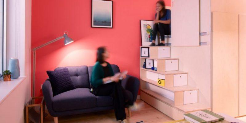 طراحی آپارتمان ۱۹ مترمربعی در لندن / Ab Rogers Design