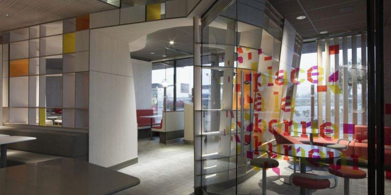 طراحی داخلی مک دونالد در پاریس