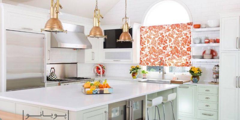 مدل های پرده آشپزخانه و آرایش پنجره با ایده های نو: به روز باشید!