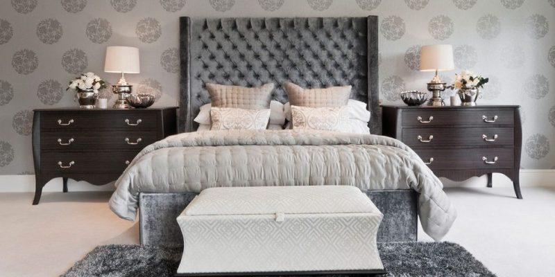 کاغذدیواری اتاق خواب : ۲۰ مدل کاغذ دیواری برای متحول کردن فضای اتاق خواب