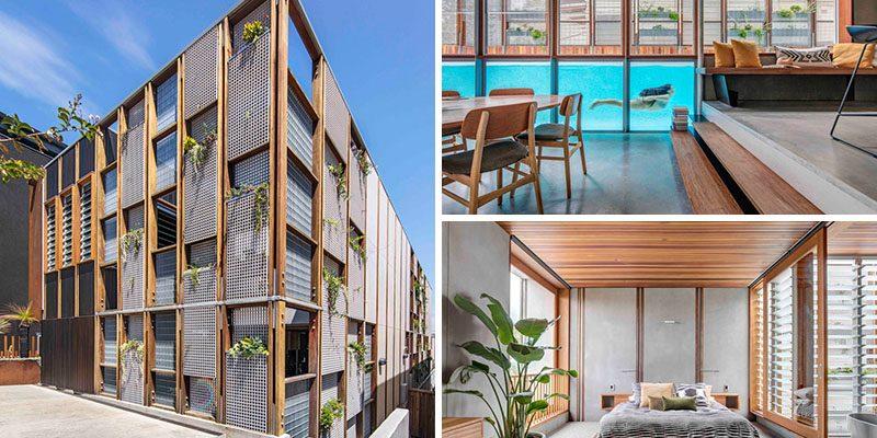 ایجاد حریم خصوصی در طراحی نما خانه و فیلتر کردن نور