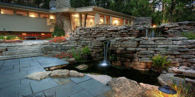 اجرای آبنما ؛ اصول انتخاب و اجرای آب نما در حیاط منزل