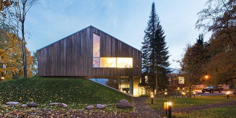 معماری خانه طبیعت در تارتو (Tartu)، استونی