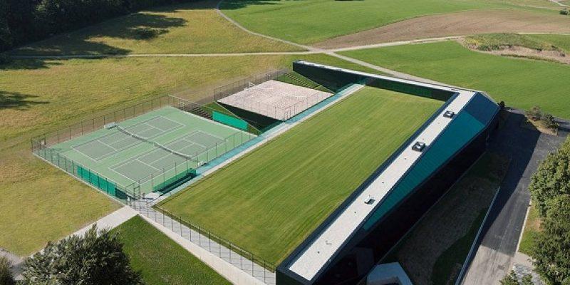 معماری و طراحی مجموعه ورزشی در سوییس
