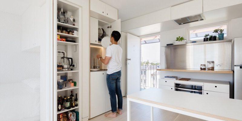 طراحی میکرو آپارتمان در سیدنی بر اساس تکنیک های سازماندهی ژاپنی در ساختمان