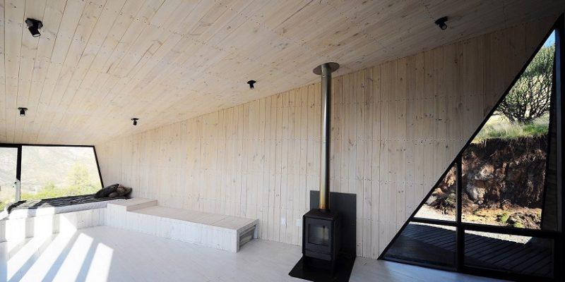 طراحی داخلی ۱۰ کلبه در طبیعت با تاثیر از محیط اطرافشان