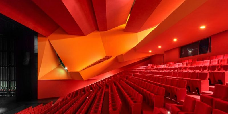 طراحی سالن تئاتر Théodore Gouvy / معماری Dominique Coulon & Associés