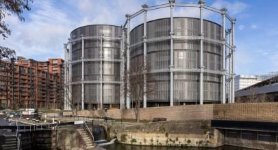 طراحی آپارتمان های لوکس با تبدیل محفظه های گاز King's Cross / معماران Jonathan Tuckey &Wilkinson Eyre