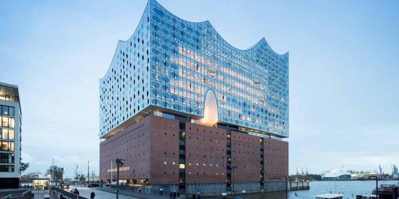 طراحی مرکز اجتماعی الب فیلارمونی هامبورگ (Elbphilharmonie Hamburg) / اثر شرکت معماری هرزوگ و د مویرون