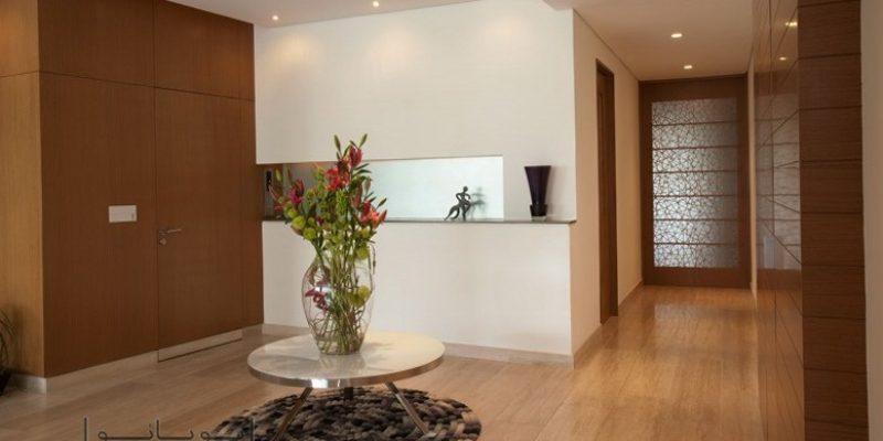 روش های تعریف و تفکیک فضای ورودی خانه در طراحی داخلی